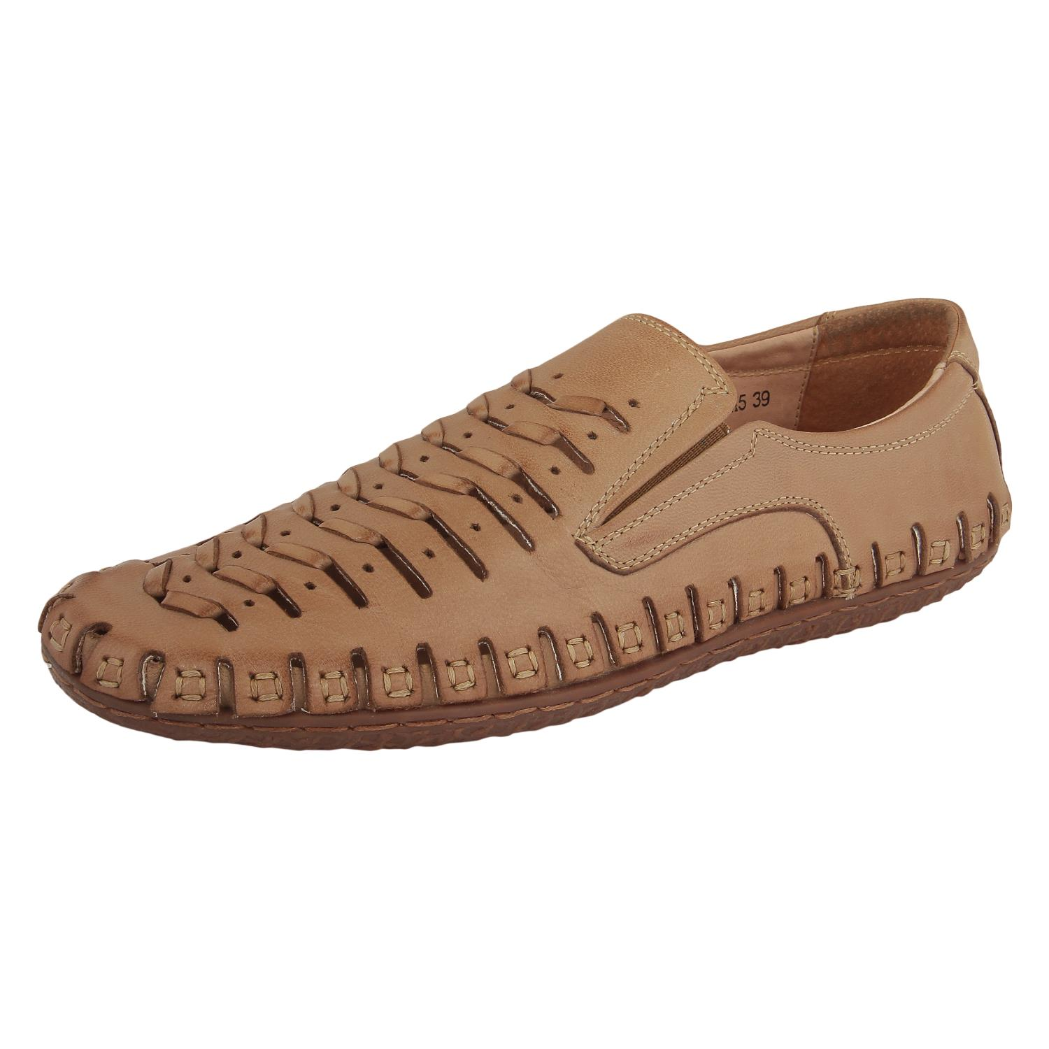 Apricot Slip-On Casual Shoes