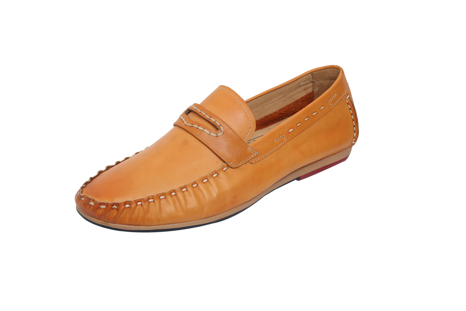 Brown Slip-On Moccasin Shoes