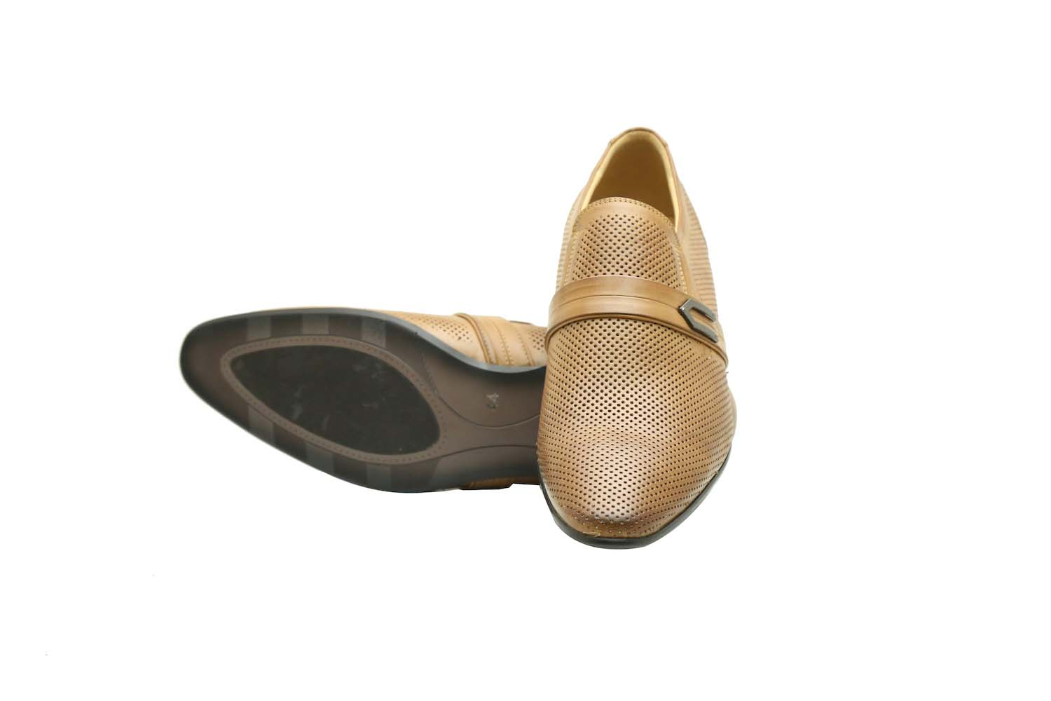 Tan Slip-On Casual Shoes