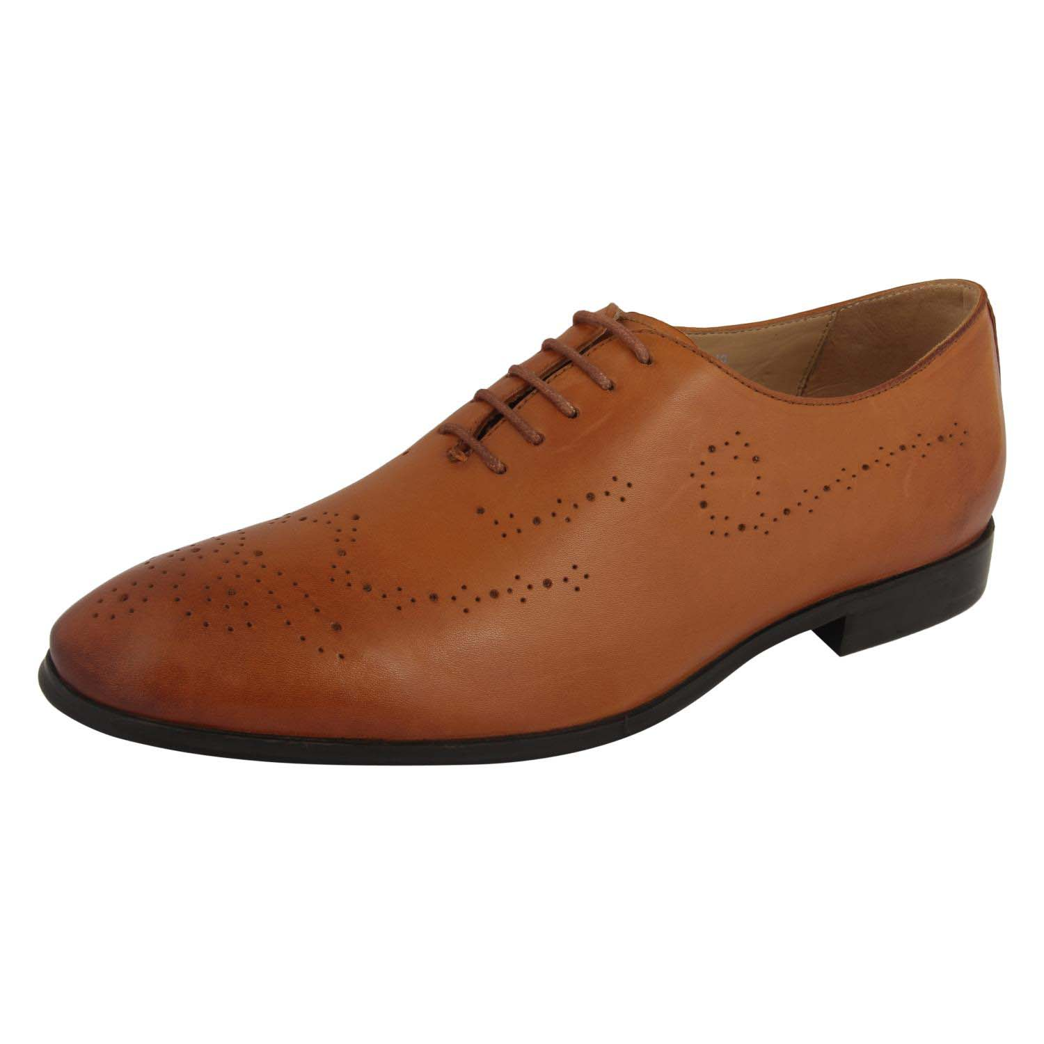Brown Lace-Up Formal Shoes