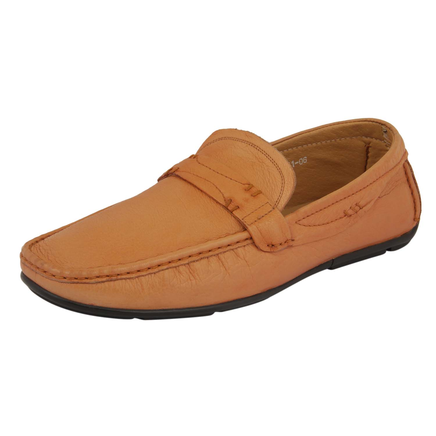 Tan Slip-On Loafer Shoes