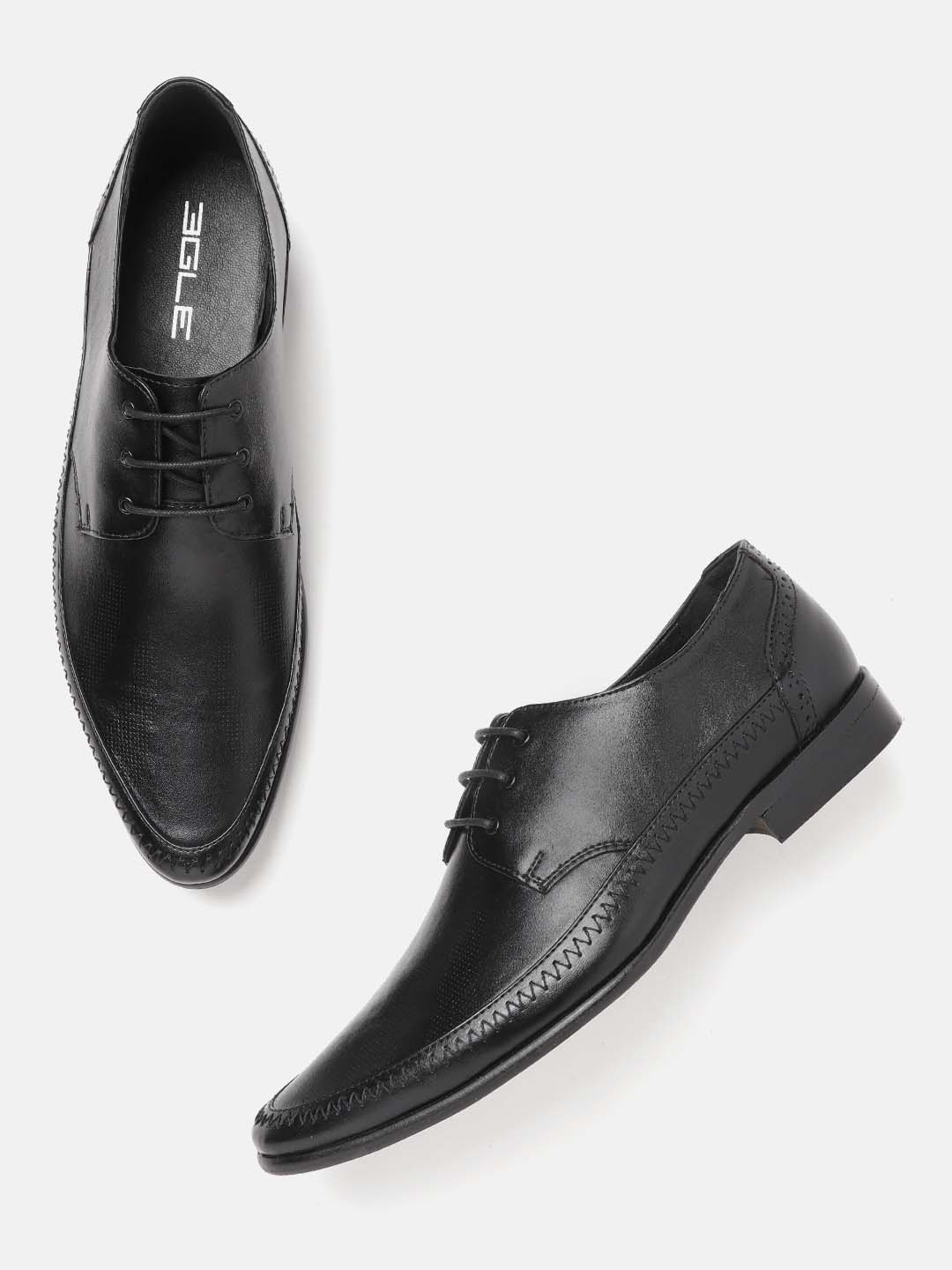 Black Lace-Up Formal Shoes