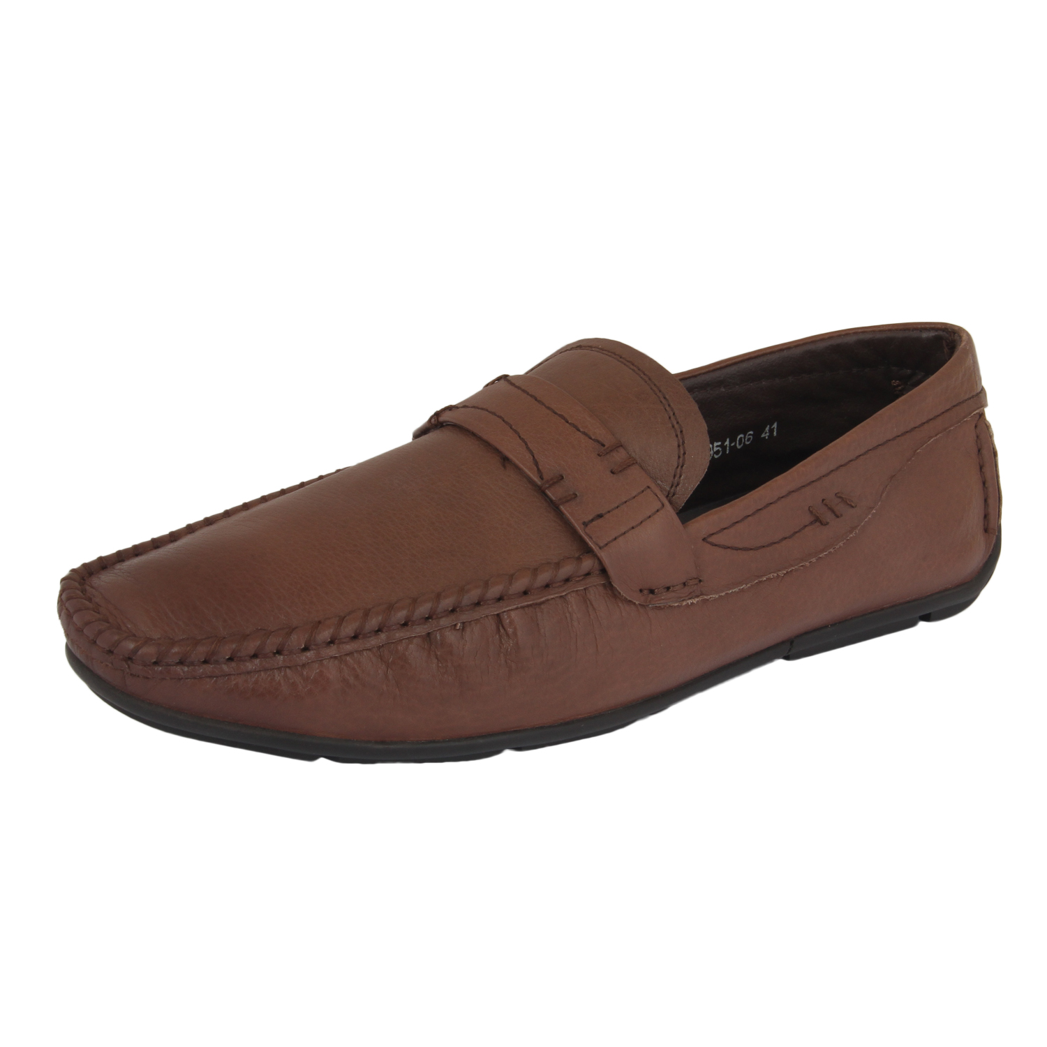 Brown Slip-on Loafer Shoes